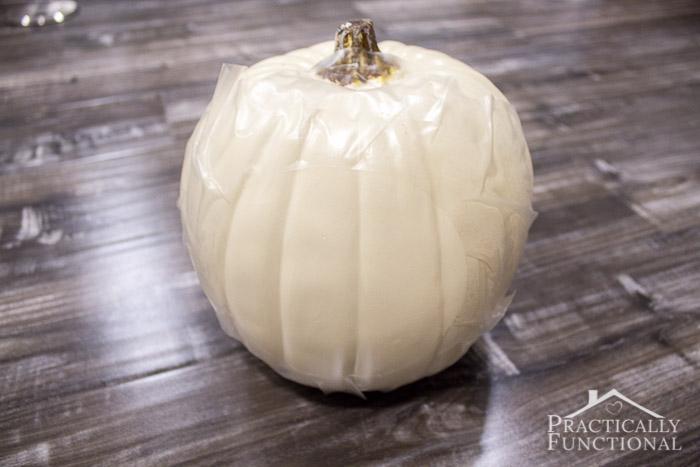 How To Make No-Carve Glow In The Dark Pumpkins-8