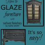 These few tips on painting with Velvet Finishes and using the Enhance Glaze products will help make your painting projects go smoothly!