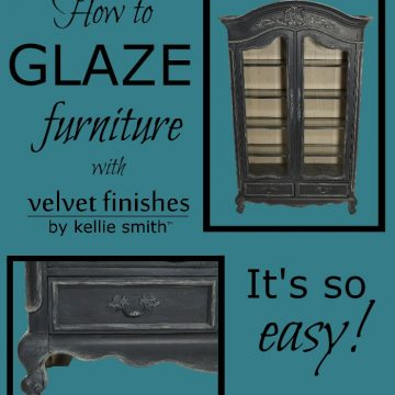 Tips for Painting and Glazing with Velvet Finishes