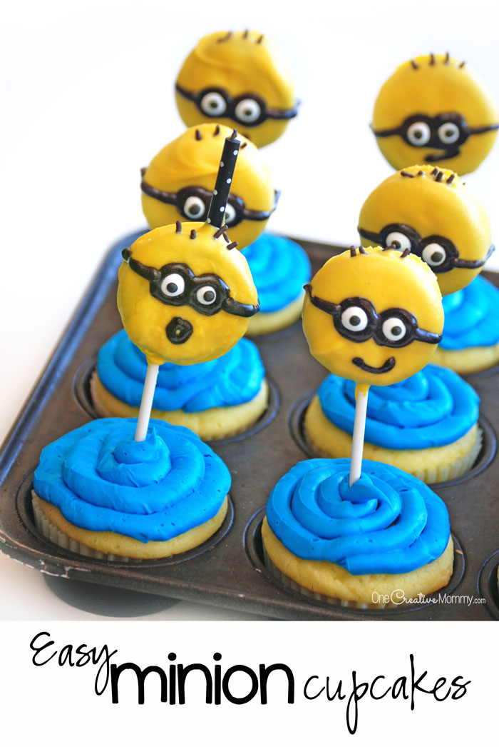 We came up with this fun and different way of making Easy Despicable Me Minion Cupcakes using candy pearls from rexaxafonoha.tk cupcakes are SO easy to make and my boys made these all by themselves. Such a fun edible craft that your little Despicable Me and Minion fans will have fun creating!