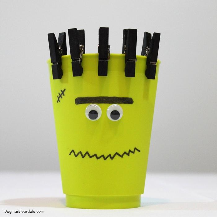 DIY Frankenstein cup