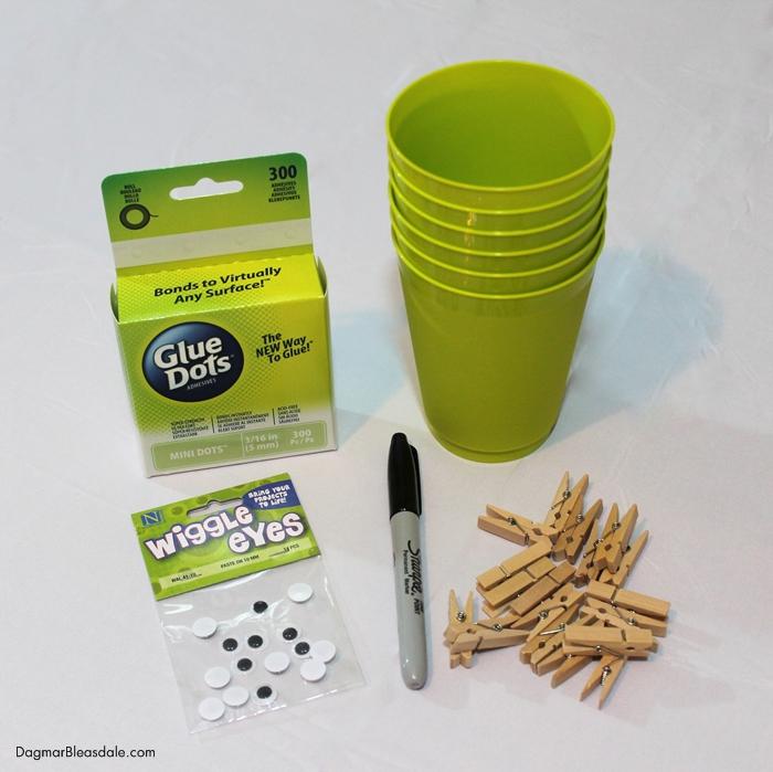 DIY Frankenstein cup supplies, picture 2