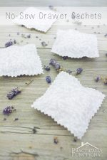 DIY No-Sew Drawer Sachets