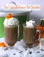 Slow Cooker Halloween Hot Chocolate