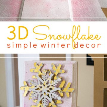 3D Snowflakes: Winter Decor