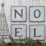 Distressed Christmas Signs
