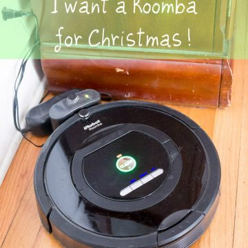 Dear Santa, I Want a Roomba for Christmas!