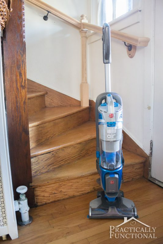 the best upright vacuum for new moms