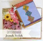 Easy Handmade Journals For Kids