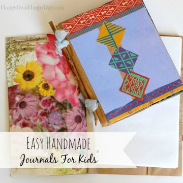 Easy Handmade Journals For Kids