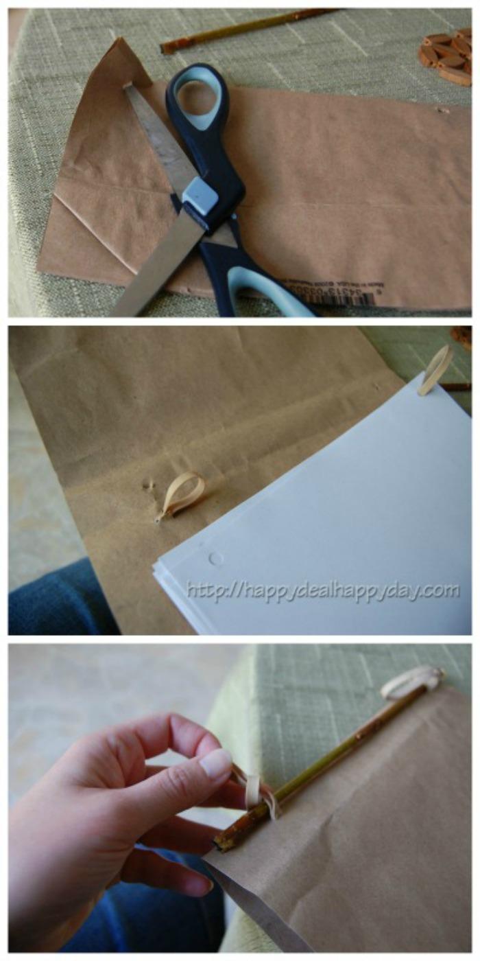 handmade journals for kids collage
