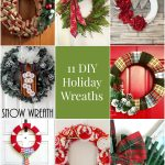11 DIY Holiday Wreaths