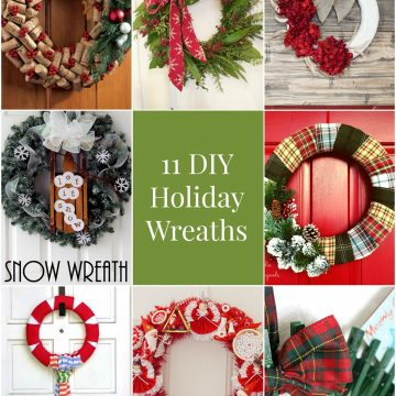 So Creative! – 11 DIY Holiday Wreaths