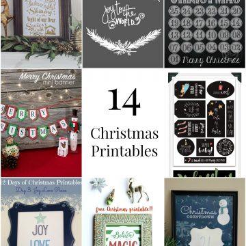 So Creative! – 14 Christmas Printables