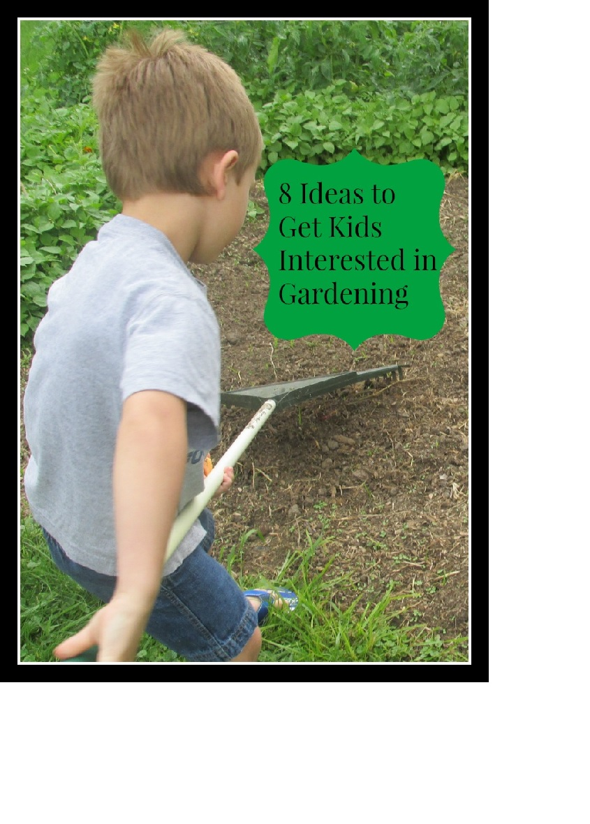 Use these 8 ideas to get kids interested in gardening.