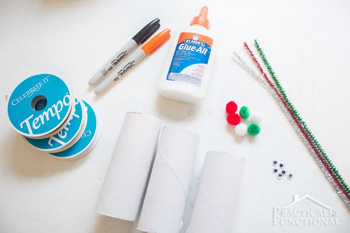 DIY Toilet Paper Roll Snowmen-9