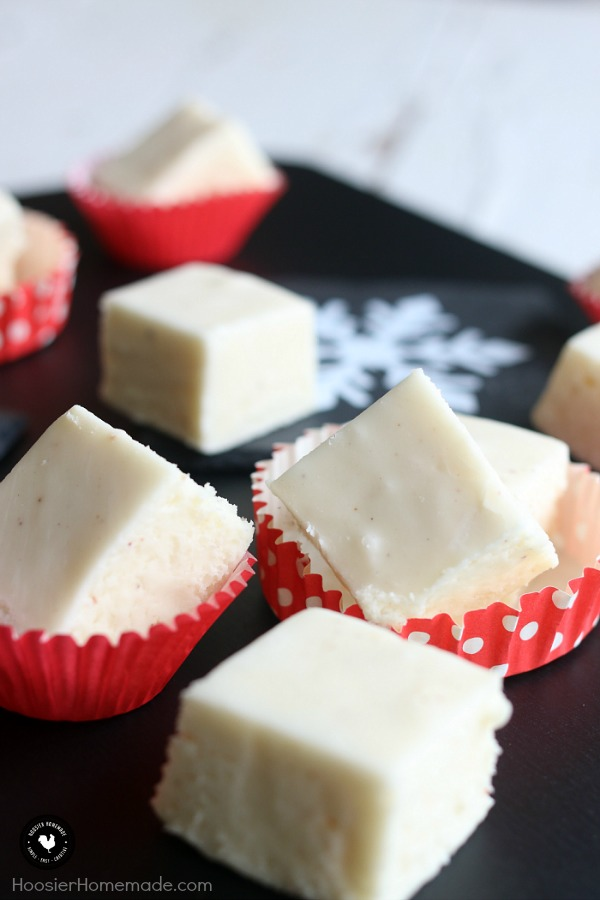 Eggnog Fudge - and 8 other delicious holiday recipes!