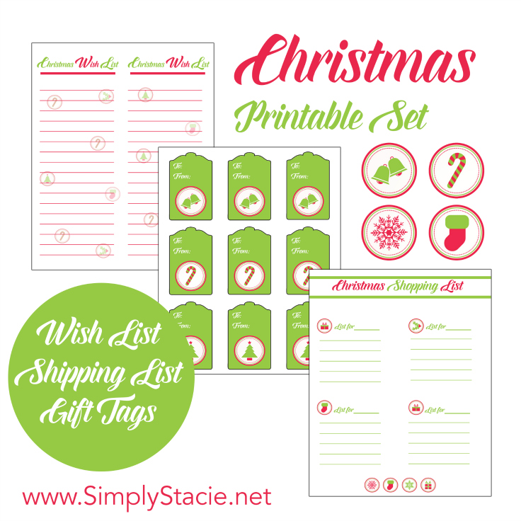 Christmas Printable Set - and 13 other Christmas printables!