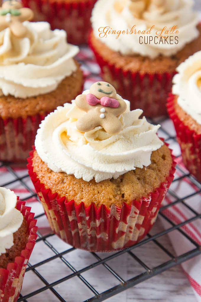 Gingerbread Latte Cupcakes - and 8 other delicious holiday recipes!