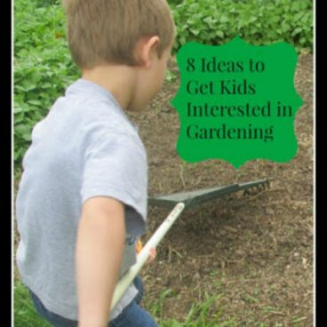 These 8 ideas are a great help for getting kids interested in gardening.