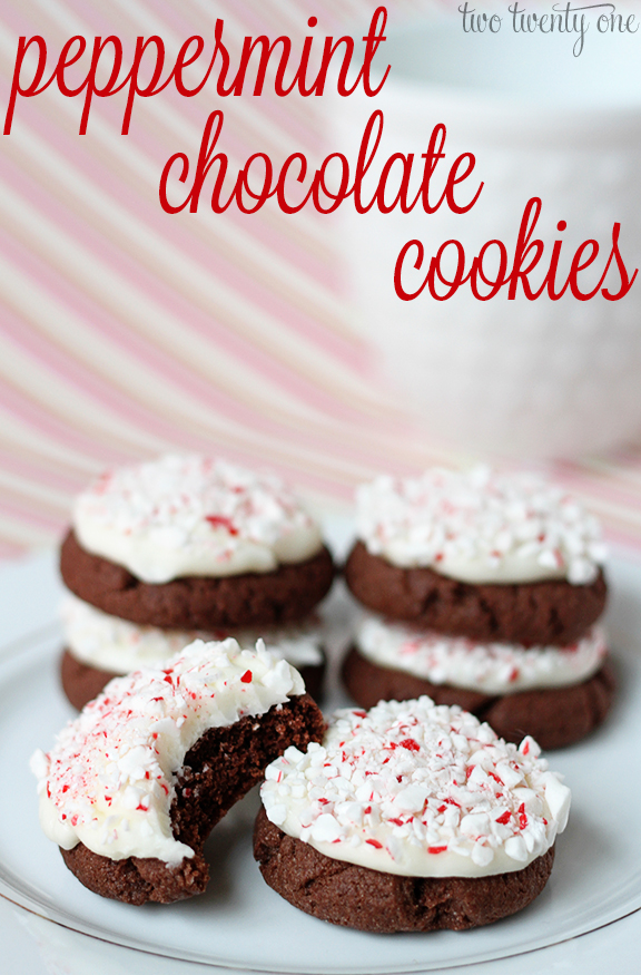 Peppermint Chocolate Cookies - and 8 other delicious holiday recipes!