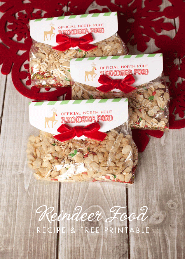 Reindeer Food Free Printable  - and 13 other Christmas printables!