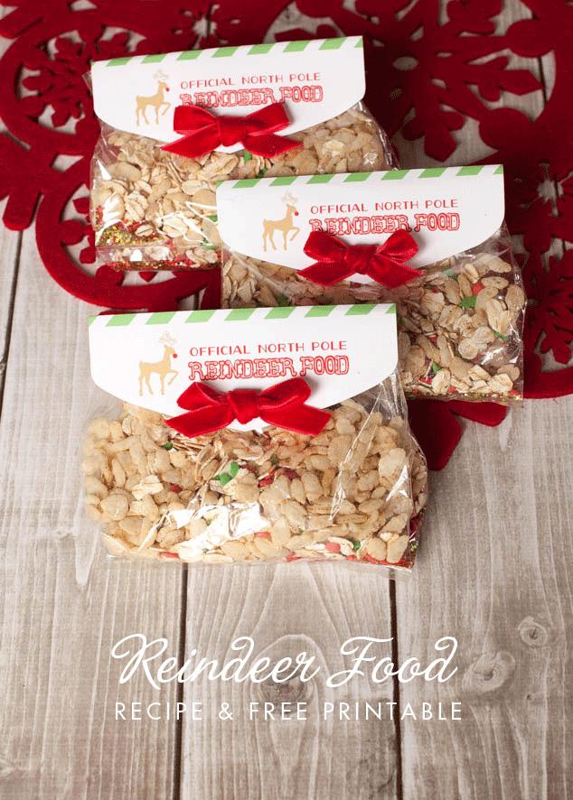 Reindeer Food Free Printable  - and 13 other Christmas printables!