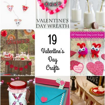 So Creative! – 19 Fun Valentine's Day Crafts