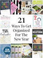 So Creative! – 21 Ways To Get Organized For The New Year!