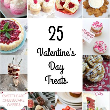 Valentine's Day is coming up. Get ready with one of these 25 delicious Valentine's Day treats that are so delicious.