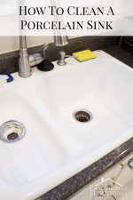 How To Clean A Porcelain Sink (including the stains and scuff marks!)