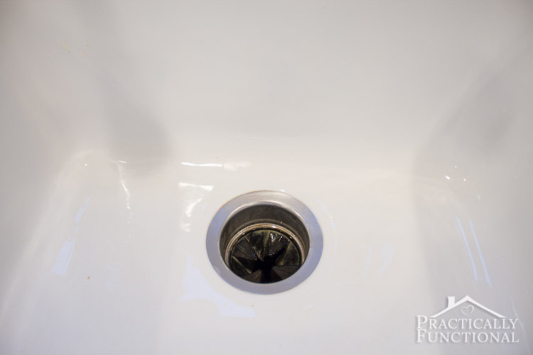 How To Clean A Porcelain Sink Including The Stains And