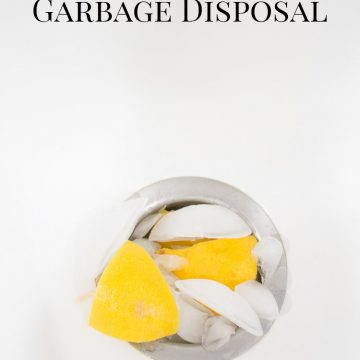How To Clean & Deodorize A Garbage Disposal
