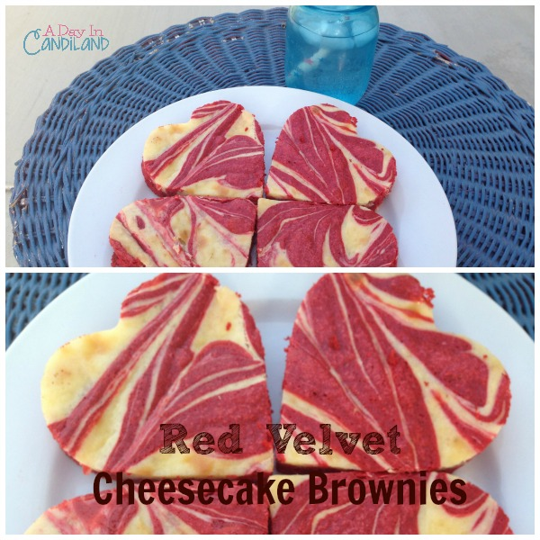 Red Velvet Cheesecake Brownies - and 24 other delicious Valentine's Day treats!
