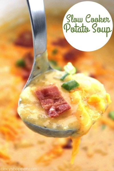 Slow Cooker Potato Soup - and 26 other delicious comfort food recipes!