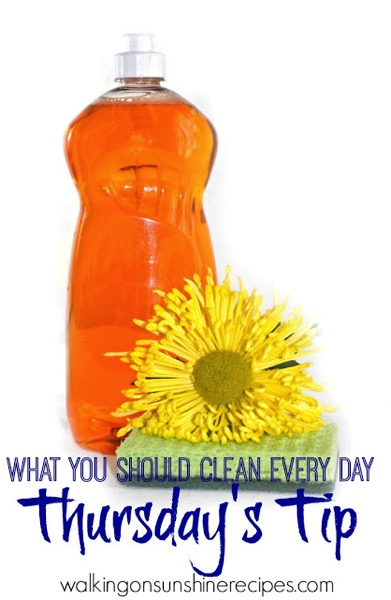 What you should clean every day to keep your house organized and tidy - and 9 other great ways to organize and declutter your home!