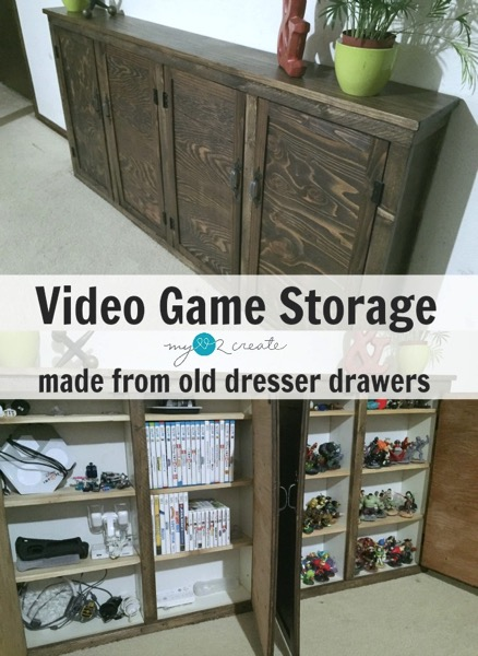 Video Game Storage - and 9 other great ways to organize and declutter your home!