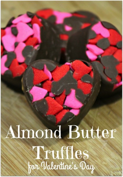 Almond Butter Truffles - and 24 other delicious Valentine's Day treats!