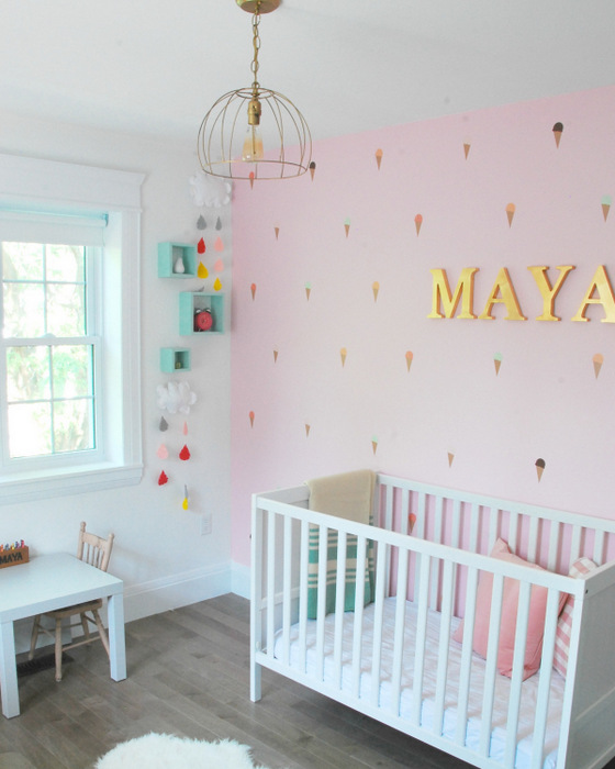 DIY Painted Pictures Mats