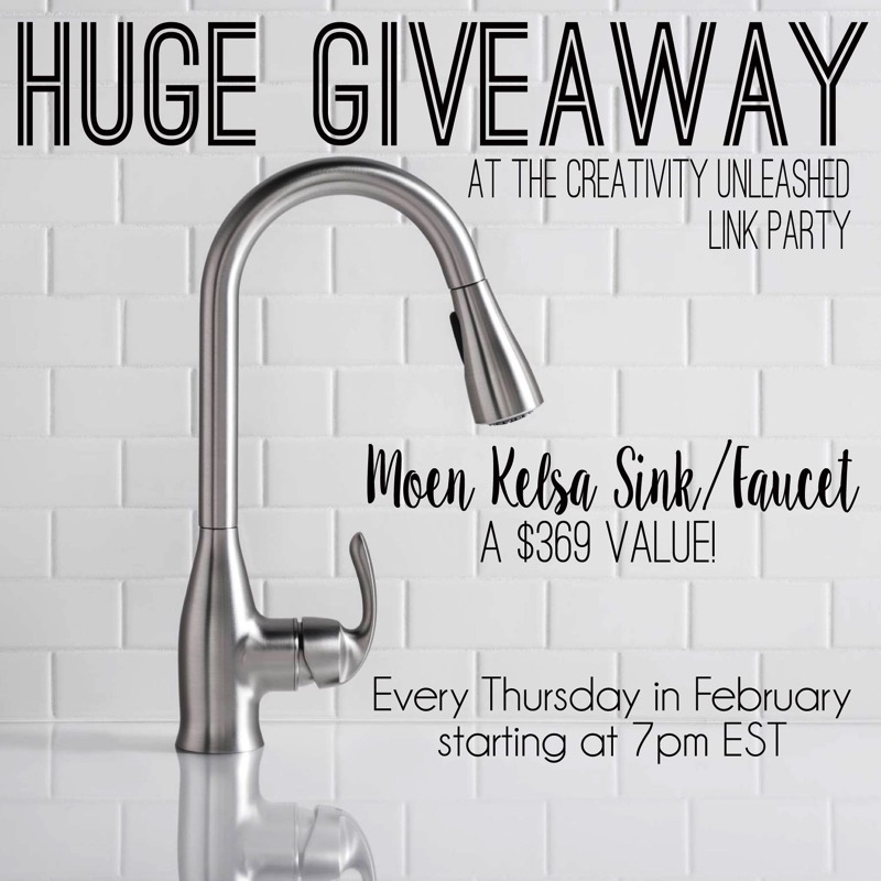 Win a Moen Kelsa sink and faucet!