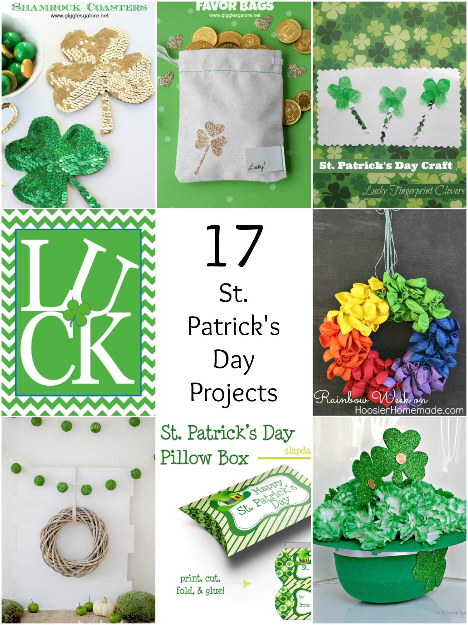 17 St. Patrick's Day Projects