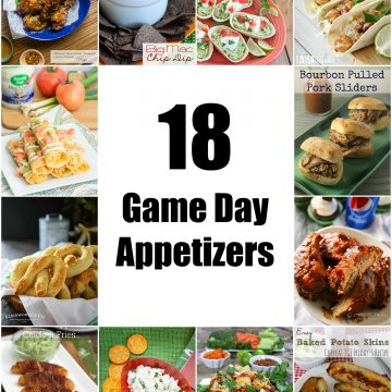 So Creative! – 18 Delicious Game Day Appetizers