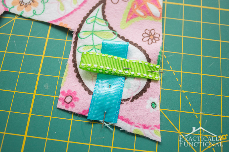 DIY Crinkle Monogram Tag Toy 4