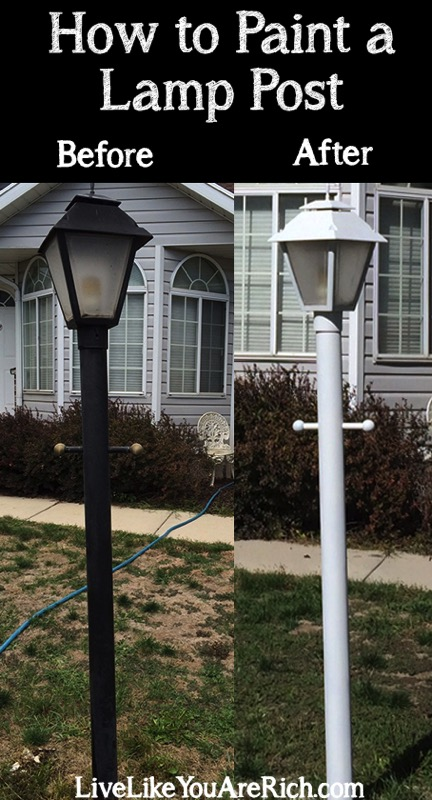 How to paint a lamp post - and 11 other festive DIY spring projects!