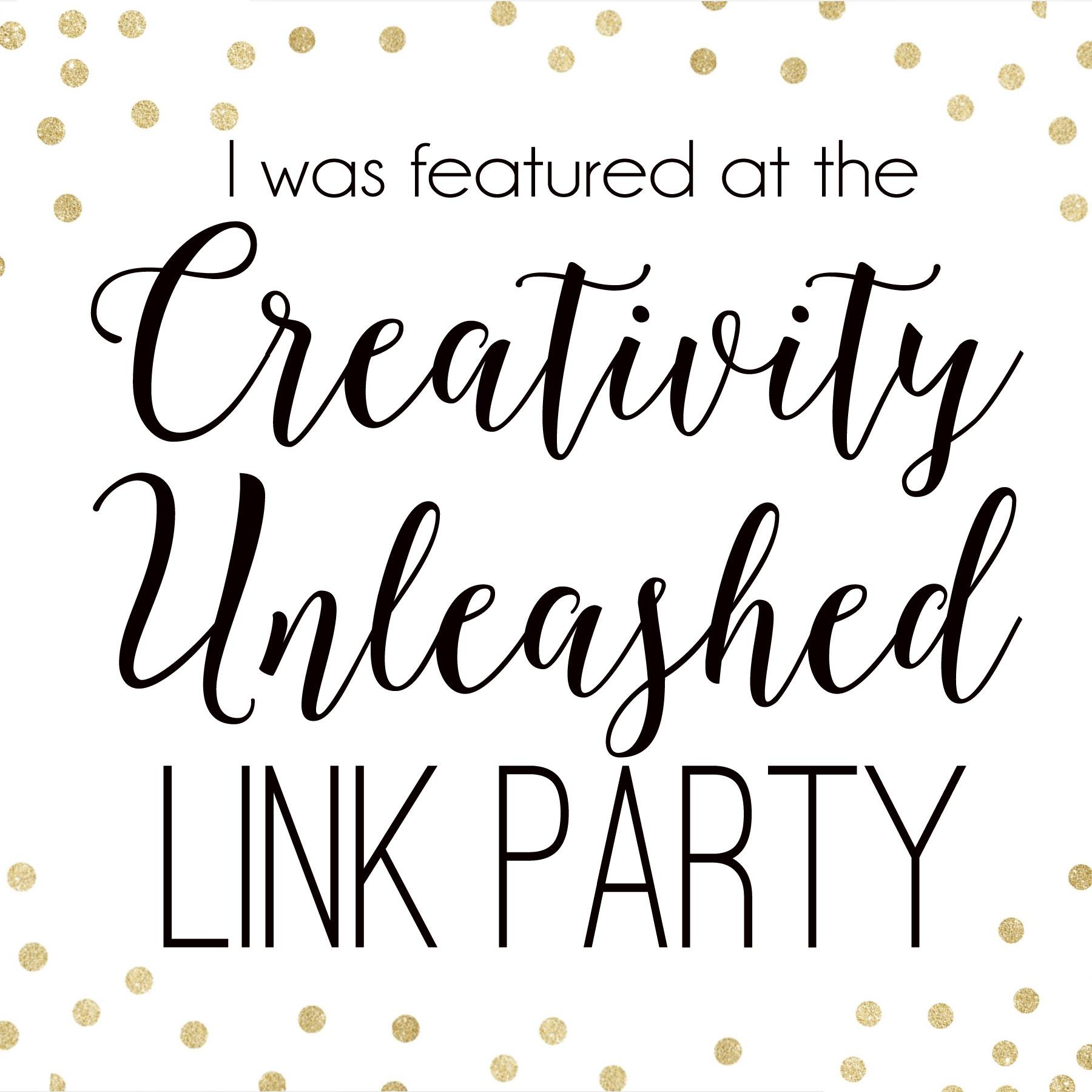 I was featured at Creativity Unleashed!