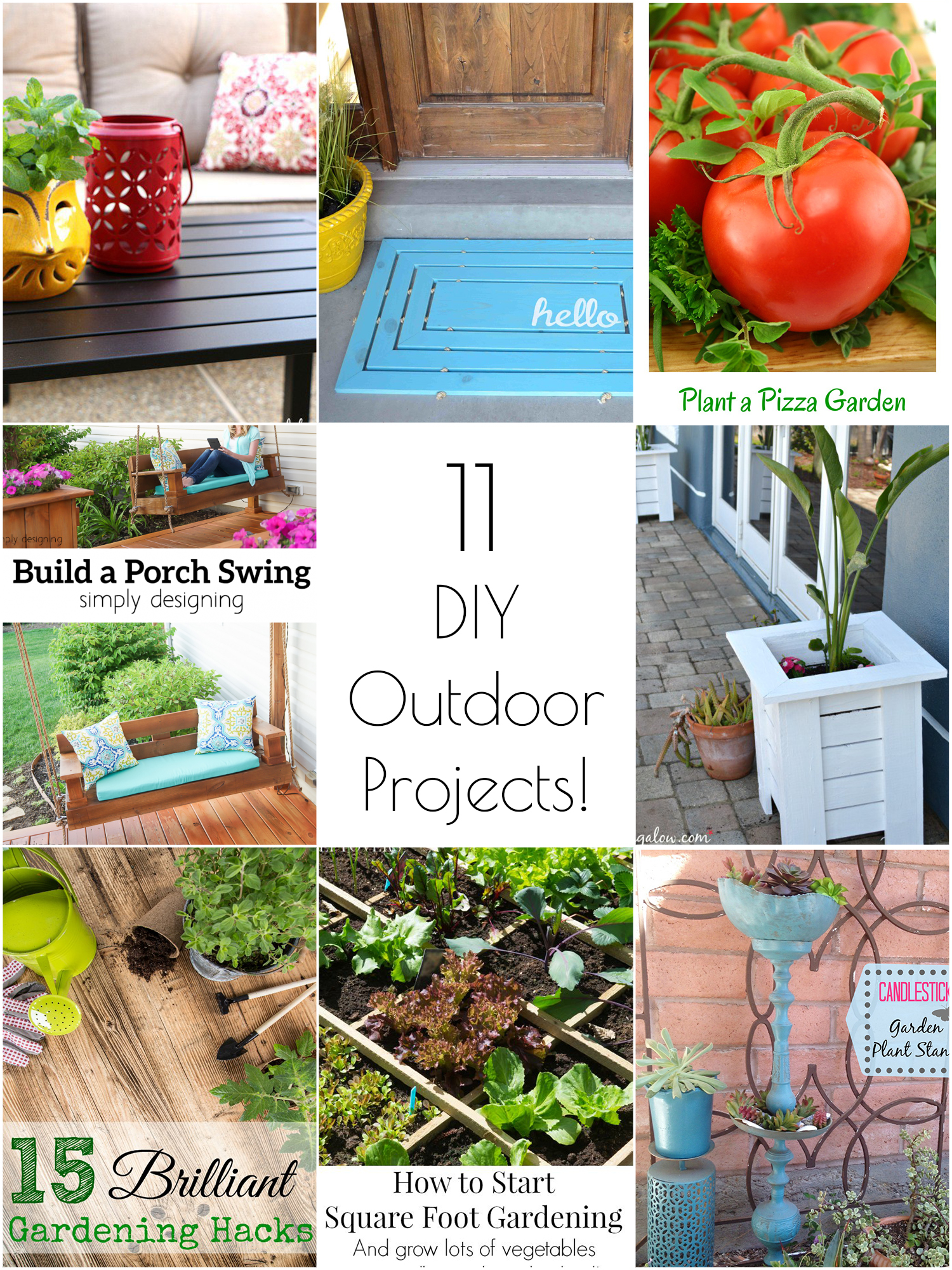 11 amazing DIY outdoor projects to try this spring