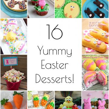 So Creative! – 16 Yummy Easter Desserts