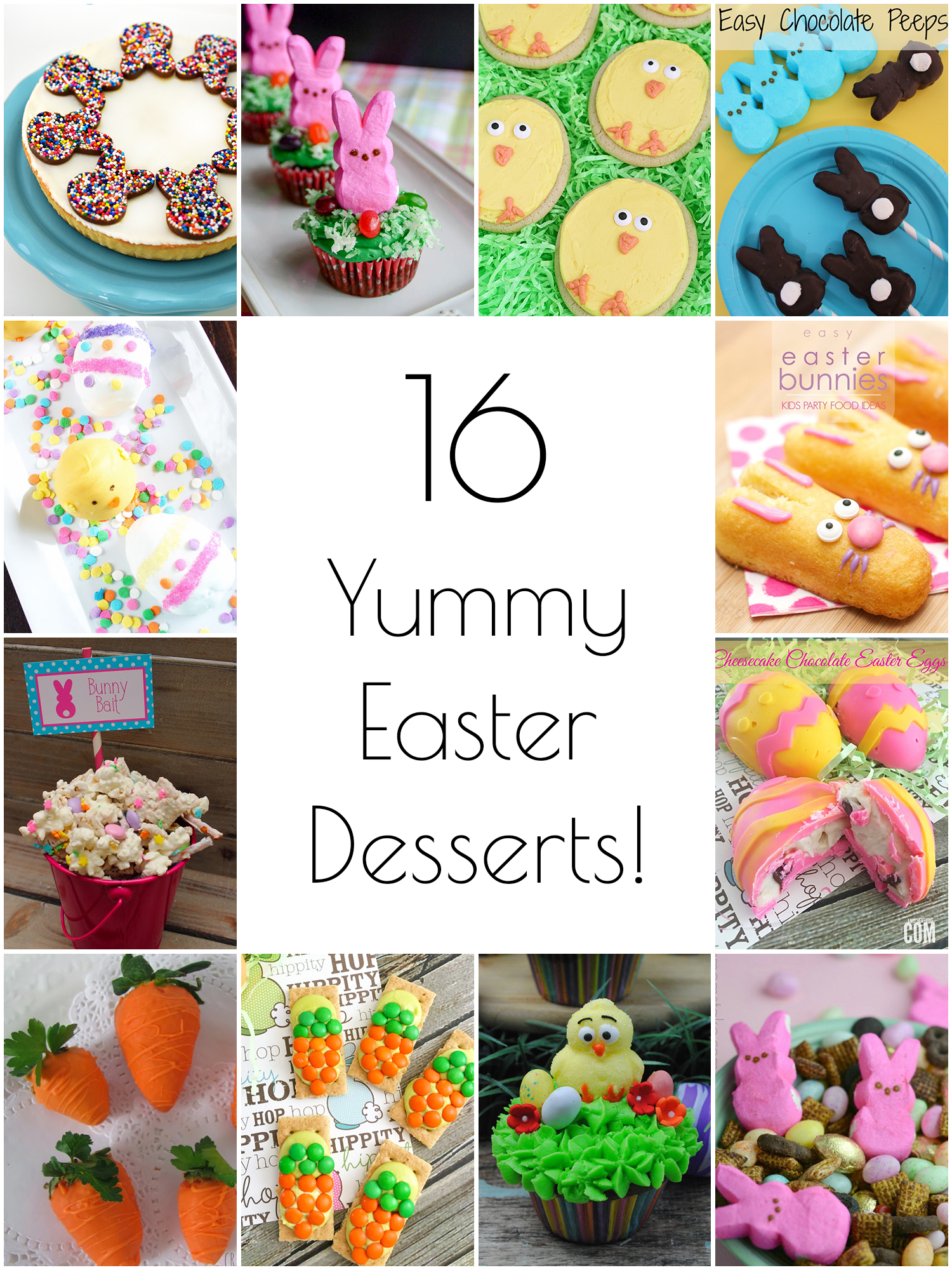16 yummy Easter desserts