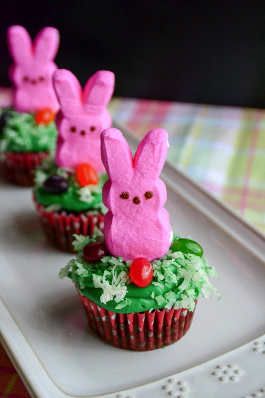 Bunny Cupcakes - and 15 other yummy Easter desserts!