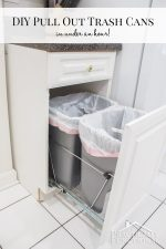 DIY Pull Out Trash Cans (in under an hour!)